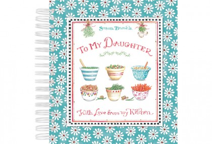 To My Daughter Recipe Keeper