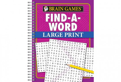 Find-a-Word Large Print