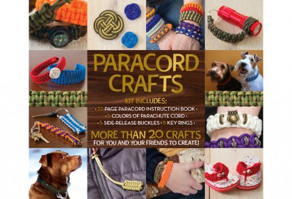Paracord Crafts Kit
