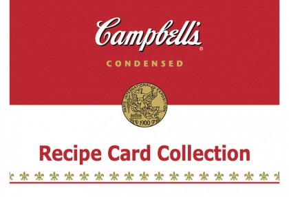 Campbell's Recipe Card Collection Tin