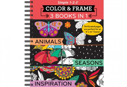 Color & Frame 3 Books in 1