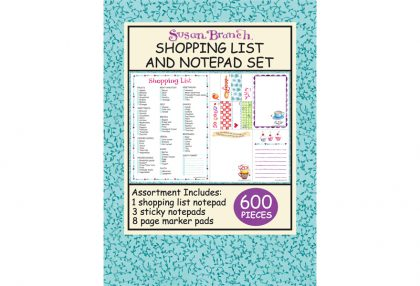 Shopping List and Notepad Set