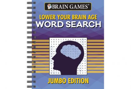 Lower Your Brain Age Word Search