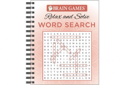 Relax and Solve Word Search