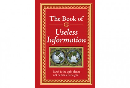 Book of Useless Information